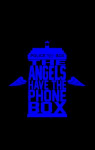 Постер Доктор Кто. Ангелы | The Doctor Who. Angels.