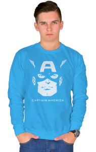 Свитшот Капитан Америка | Captain America