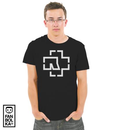 Футболка Рамштайн лого | Rammstein logo