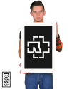 Плакат Рамштайн лого