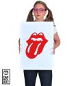 Плакат Роллинг Стоунз логотип