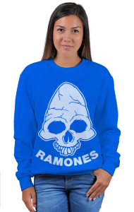 Свитшот Рамонес. Веселый Роджер | Ramones . Jolly Roger