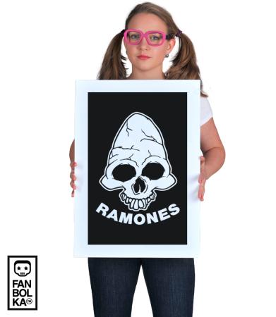 Постер Рамонес. Веселый Роджер   Ramones . Jolly Roger