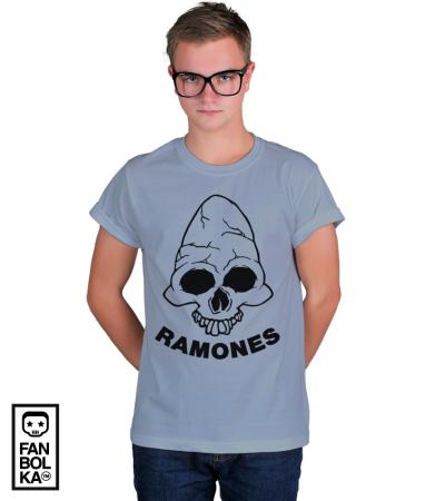 Футболка  Рамонес. Веселый Роджер 2 |Ramones . Jolly Roger 2