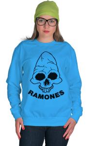 Свитшот  Рамонес. Веселый Роджер 2 |Ramones . Jolly Roger 2