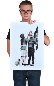 Постер Бэнкси. Мама анархиста | Banksy. Anarchist Mother