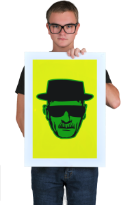 Постер Хайзенберг - Мет  Heisenberg - Meth