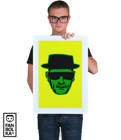 Постер Хайзенберг - Мет |Heisenberg - Meth