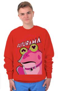 Свитшот Футурама. Гипножаба | Futurama. Hypnofrog
