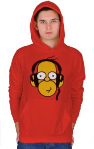 Худи Гомер Симпсон Меломан | Homer Simpson Meloman