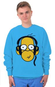 Свитшот Гомер Симпсон Меломан | Homer Simpson Meloman