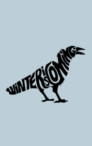 Постер Зима Близко. Ворон   Winter is coming. Raven