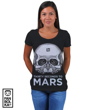 Футболка 30 Секунд До Марса | Thirty Seconds to Mars