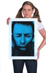 Постер Радиохед. Том Йорк | Tom York. Radiohead