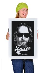 Постер Большой Лебовски. Чувак   Big Lebowski. The Dude