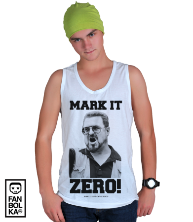 "Футболка Уолтер Собчак | Walter Sobchak ""Mark it Zero"""
