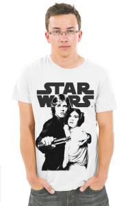 Футболка Стар Варс Люк и Лея | StarWars Luke & Leia