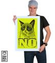 Постер Сердитый Котик