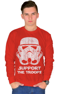 Свитшот Штурмовик | Support the Troops vintage