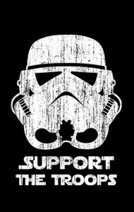 Постер Штурмовик | Support the Troops vintage