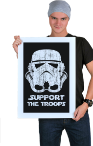 Постер Штурмовик | Support the Troops vintage