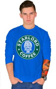 Свитшот Звездный Лорд кафе | StarLord Coffee