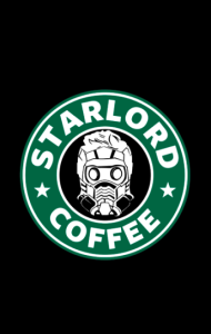 Постер Звездный Лорд кафе | StarLord Coffee
