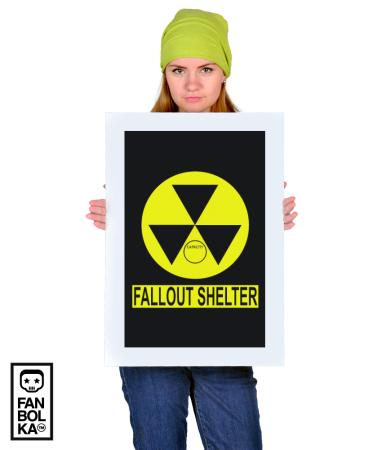 Постер Фаллаут Приют   Fallout Shelter