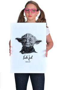 Постер Йода Джедай | Yoda Jedi