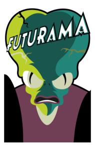 Постер Морбо Футурама   Morbo Futurama