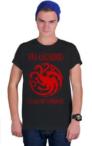 Футболка Огонь и Кровь | Fire and Blood