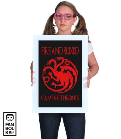Постер Огонь и Кровь | Fire and Blood