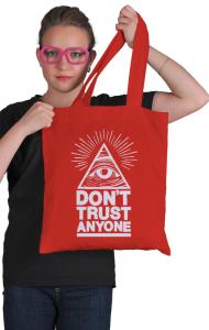Сумка Не доверяй никому | Don't trust anyone