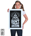 Плакат Не доверяй никому