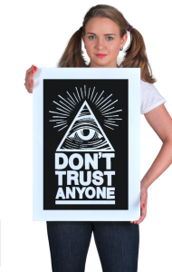 Постер Не доверяй никому | Don't trust anyone