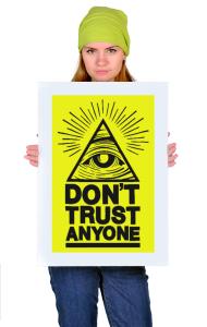 Постер Никому не доверяю | Don't Trust Anyone