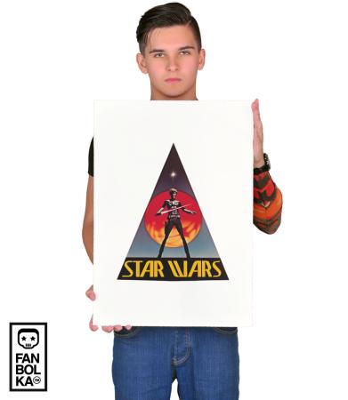 Постер Стар Варс Олдскул | Star Wars Old school