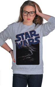Свитшот Star Wars винтаж классик   Star Wars vintage classic