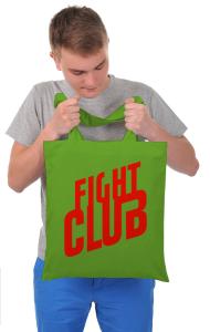 Сумка Бойцовский Клуб Лого   Fight Club Logo