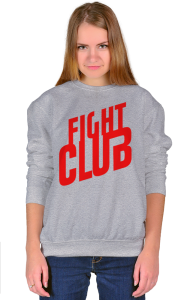 Свитшот Бойцовский Клуб Лого | Fight Club Logo