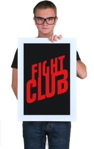 Постер Бойцовский Клуб Лого | Fight Club Logo