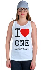 Футболка Я Люблю Ван Дирекшн | I Love One Direction