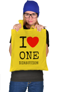Сумка Я Люблю Ван Дирекшн | I Love One Direction