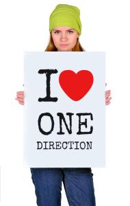 Постер Я Люблю Ван Дирекшн | I Love One Direction