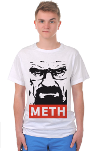Футболка Хайзенберг Мет | Heisenberg Meth Breaking Bad