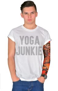 Футболка Йога - зависимый | Yoga Junkie
