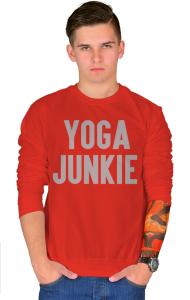 Свитшот Йога - зависимый | Yoga Junkie