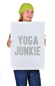 Постер Йога - зависимый | Yoga Junkie