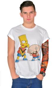 Футболка Стьюи и Барт | Stewie & Bart