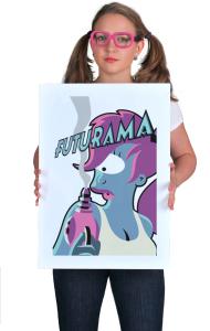 Постер Туранга Лила Футурама | Turanga Leela Futurama